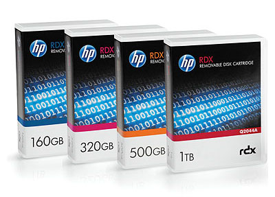 HP RDX - Removable Disk Storage