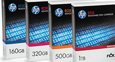 HP RDX 160GB Removable Disk Cartridge