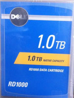 Dell RD1000 Y5G6T 1TB RDX Removable Disk Storage - 1TB HDD (Hard Disk Drive) Cartridge Compatible with Imation 27957
