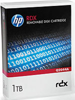 HP RDX 500GB Removable Disk Cartridge Q2042A