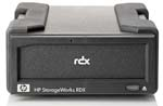 B7B63A HP RDX 320GB Bundle - External USB 3.0 Removable Disk Backup System with 1 x 320GB RDX Cartridge B7B63A