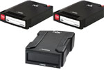 Imation RDX 750GB Starter Kit bundle - 2 x 750GB Cartridge plus USB 2.0 External RDX Docking Station 27853-1500GB (Promo Ends Dec. 31, 2012)