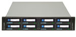 Tandberg Data RDX QuikStation - 8 Bay 2U Removable Disk Storage Library Part# 8900-RDX