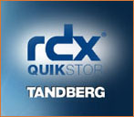 Tandberg Data RDX Quikstor Removable Disk Cartridges