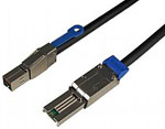 HD Mini SAS (SFF-8644) to Mini SAS (SFF-8088) External SAS Cable, 1 Meter Part# C5556-1M