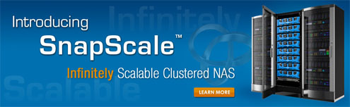 SnapScale X2 Clustered NAS by Overland Storage