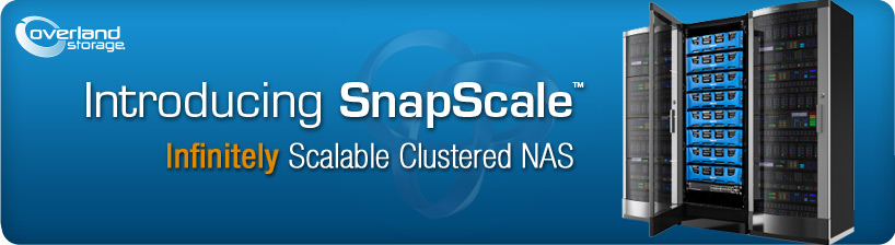 SnapScale Clustered NAS by Overland Storage