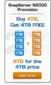 Double your capacity for FREE get 8TB for the price of 4TB
