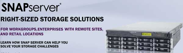Snap Server Storage Solutions by Adaptec