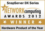 SnapServer DX2 - 2012 NAS Hardware Product of the Year