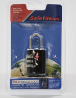 TeraTurtle Lock - TSA (3 Dial Combination) Fits all Turtle Cases for LTO/RDX/3592 Part# 11-675971