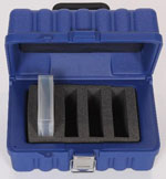 Turtle RDX Storage Case - Capacity 4 slots fitted for RDX Cartridges - Removable Disk Cartridges Part # 08-673013