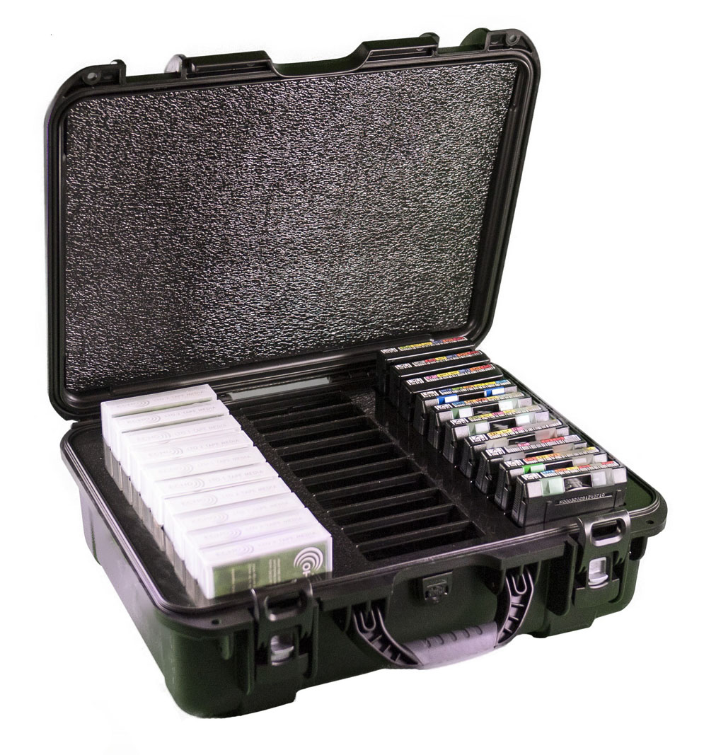 turtle tape media storage cases store your lto ultrium dlt and