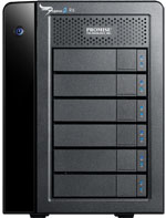Pegasus2 R6 12TB 6-Bay RAID System with Thunderbolt 2 Technology (6 x 2TB) by Promise Technology Part# P2R6HD12US (HE152VC/A)