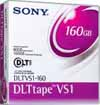 Sony DLTVS1-160 Data Cartridge Tape VS1, 80/160GB when used with DLT VS160 Drive, 160/320GB when used with DLT-V4 Drive