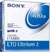 Sony LTO2 Ultrium-2 200/400GB Data Cartridge Tape LTX200G