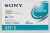 Sony AIT-3 SDX3-100C - Data Cartridge Tape, 8mm, AIT3, AME, 100/260GB, 230m SDX3100C