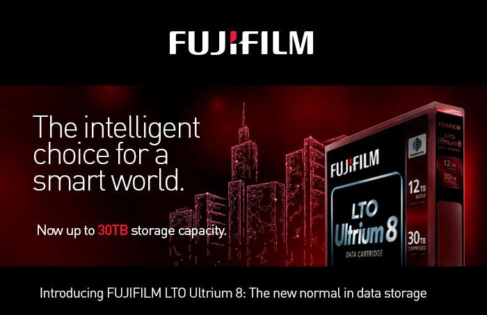 Fuji LTO-8 Tape Media now available in Stock