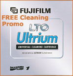 FREE LTO Cleaning Cartridge FujiFilm