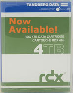 Tandberg Data RDX 4TB Cartridge 8824-RDX