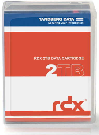 Tandberg Data RDX 2TB Disk Cartridge from BackupWorks.com 8731-RDX