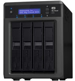 Western Digital My Cloud EX4 NAS 0TB - Personal Cloud Storage Part# WDBWWD0000NBK-NESN