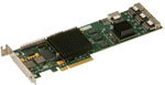 ESAS-R30F-000 ExpressSAS x8 PCIe to 3Gb SAS/SATA, 16 Int Port, Half Height (RoHS) by ATTO Technology Part # ESAS-R30F-000