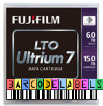 FREE Custom Sequence FujiFilm LTO-7 Barcode Labels w/min. purchase of 20 or more FujiFilm LTO-7 Data Cartridges 16456574-BCL