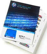 HP Q2011A Ultrium LTO-5 LTO5 RW Tape Barcode Label Pack (100 Data / 10 Cleaning)