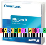 FREE Custom Sequence Quantum LTO-8 Barcode Labels w/min. purchase of 20 or more Quantum LTO-8 Data Cartridges MR-L8MQN-01-BCL
