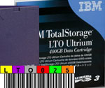 IBM LTO-3 - with FREE Custom Barcode Labels