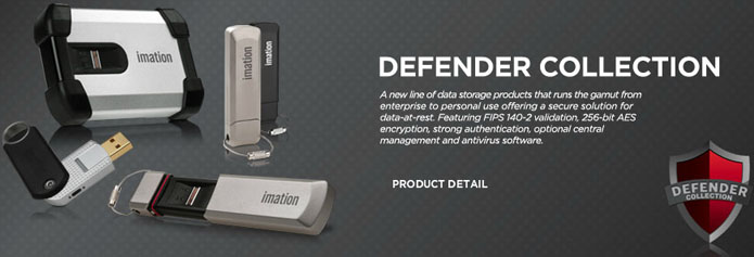 Imation Defender Flash Drives - Secure Portable Storage