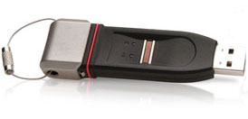 Imation Defender F200 Biometric Flash Drive - Fingerprint Identification