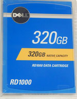 DELL PowerVault RD1000 320GB Data Cartridge 341-7182