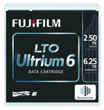 FujiFilm LTO-6 Ultrium Tape Media 2.5TB/6.25TB Fuji LTO-6 Ultrium Data Cartridge Part# 16310732