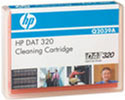 HP DAT 320 Cleaning Cartridge Q2039A Tape, 4mm DAT 320, DAT320