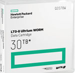 HP LTO-8 30TB WORM Cartridge HPE LTO-8 Part# Q2078W