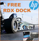 HP RDX Free Docking Station Promotion