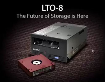 LTO-8 Now Available - LTO-8 Tape Drives 12TB Native 30TB Compressed