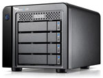 Pegasus2 M4 4TB 4-Bay Mini RAID 5/6 System featuring 2.5