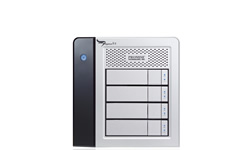 Pegasus R4 RAID Storage with Thunderbolt Connectivity for MAC OS X by Promise Technology - 4 Bay SATA 4TB (4 x 1TB) Part # PR401US