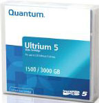 Quantum LTO-5 Ultrium Data Cartridge 1.5TB / 3.0TB LTO Ultrium-5 Tape Part # MR-L5MQN-01